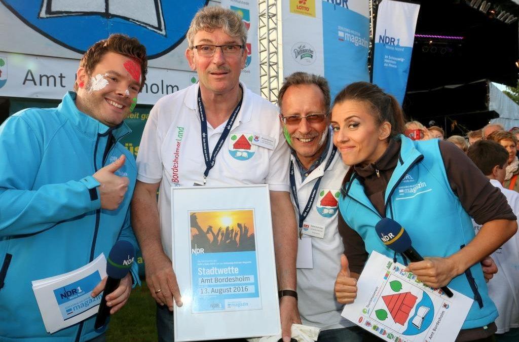 NDR 1 und Welle Nord Sommertour 2016: Wir haben die Stadtwette gewonnen