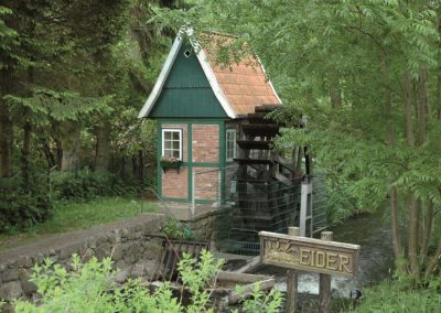 Eidermühle in Brügge